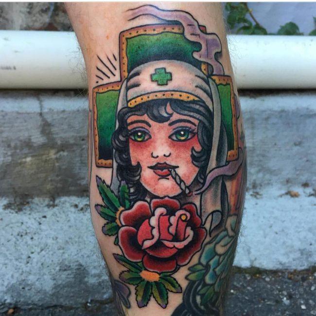 weed tattoo28
