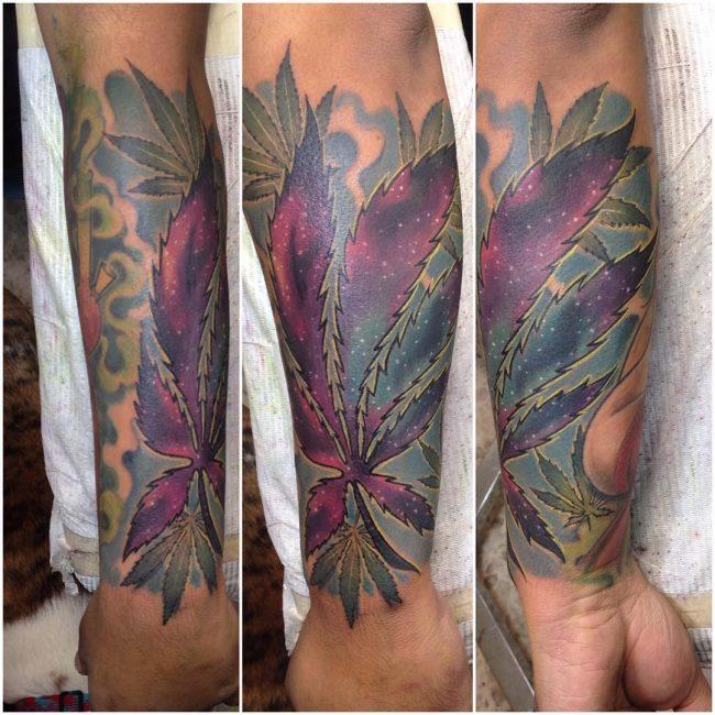 weed tattoo33