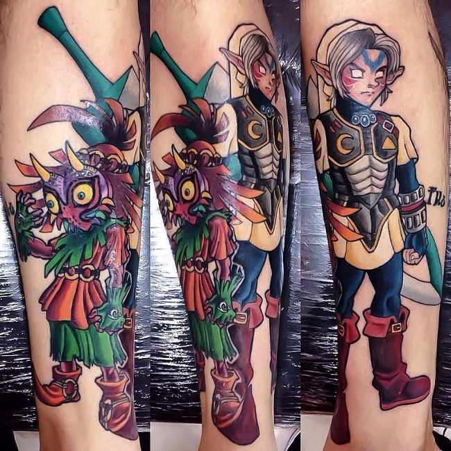 zelda tattoo17
