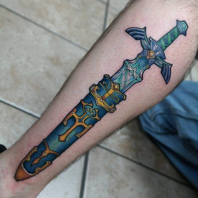 zelda tattoo2