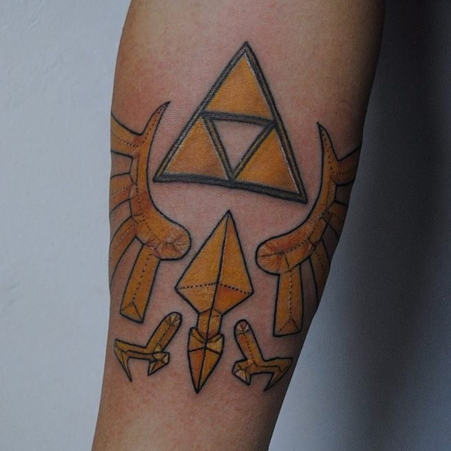 zelda tattoo24