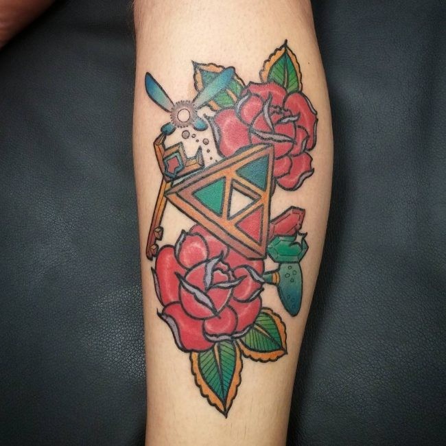 zelda tattoo25