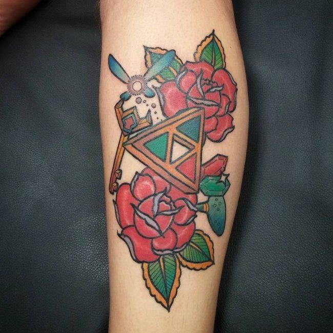 zelda tattoo25