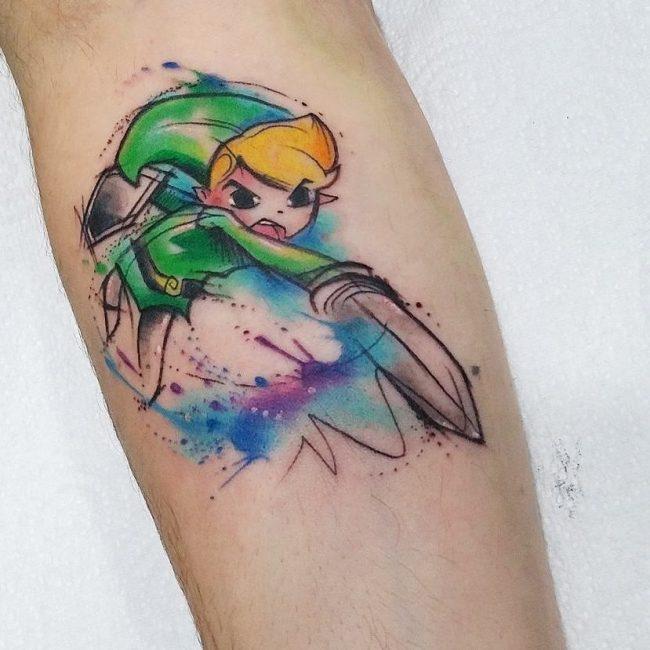 zelda tattoo34