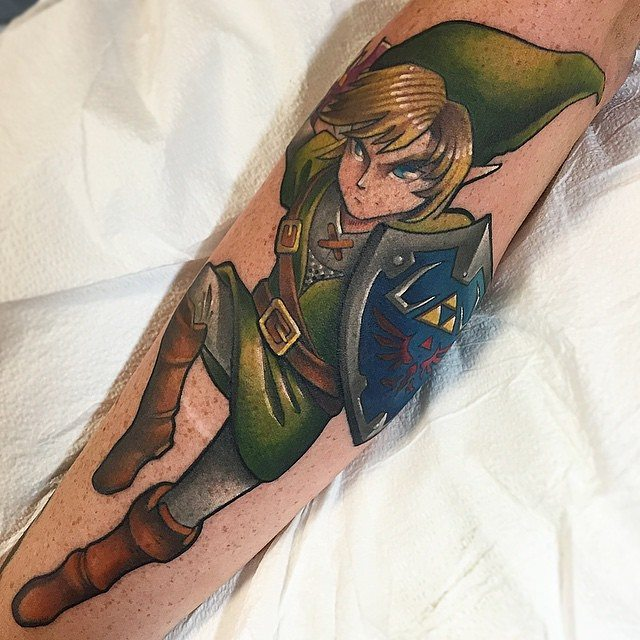 zelda tattoo43