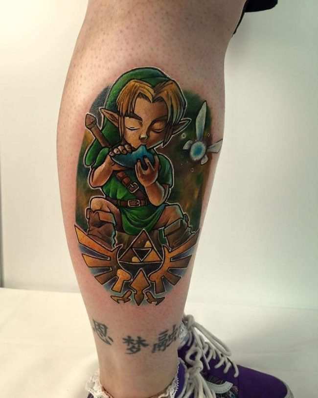 zelda tattoo46