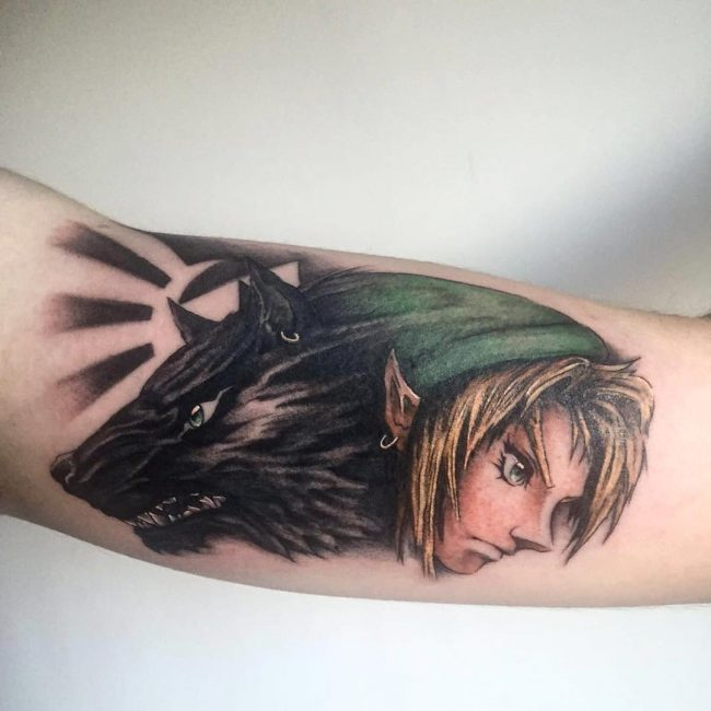 zelda tattoo47