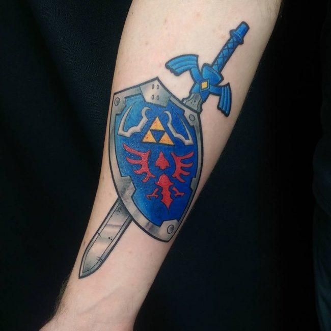 zelda tattoo48