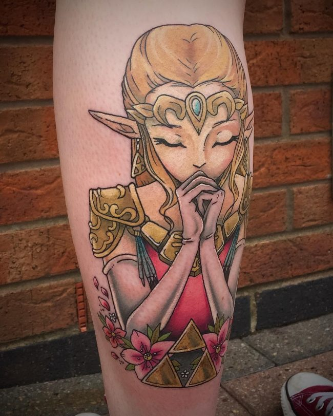 zelda tattoo49