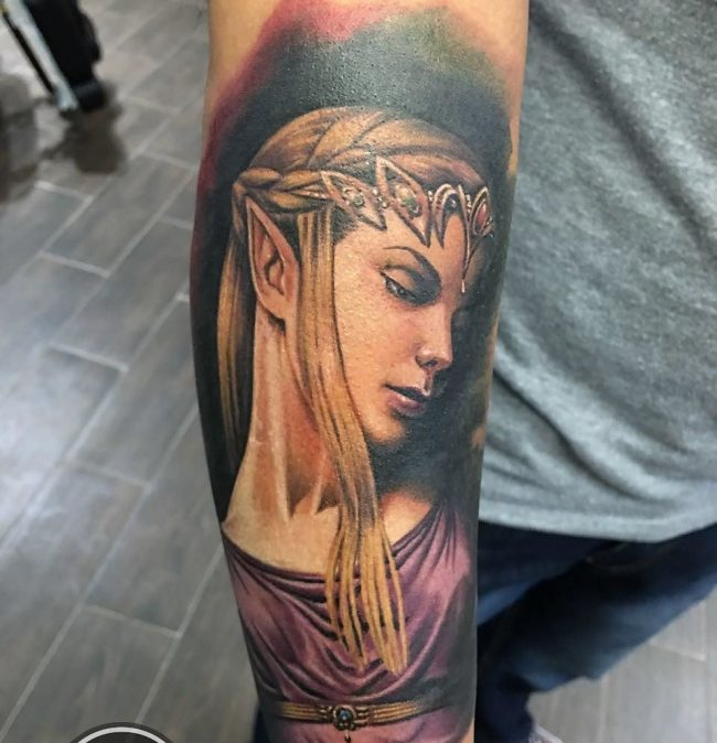 zelda tattoo7