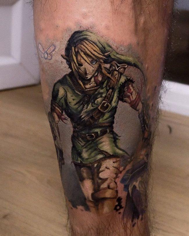 zelda tattoo8