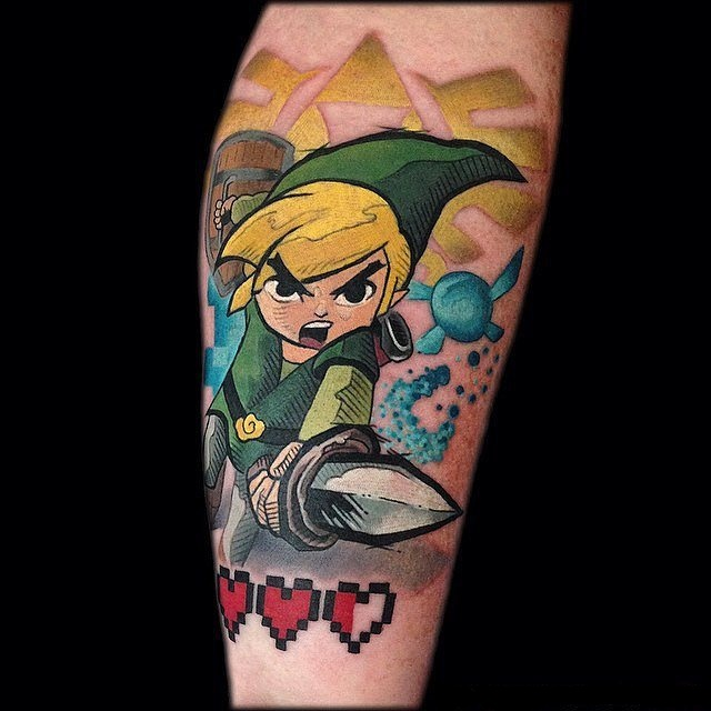 zelda tattoo9