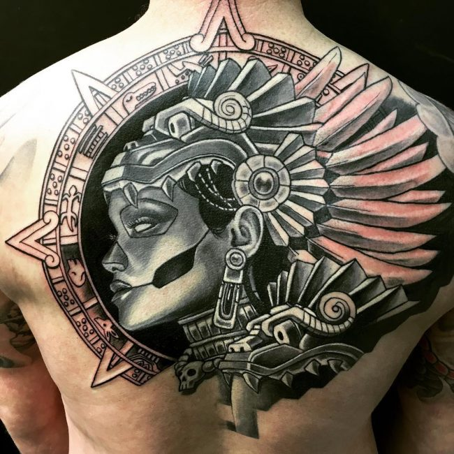50 symbolic mayan tattoo ideas fusing ancient art with modern tattoos. Black Bedroom Furniture Sets. Home Design Ideas