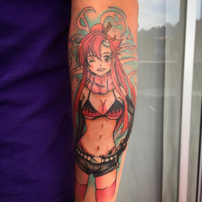 Anime Tattoo_