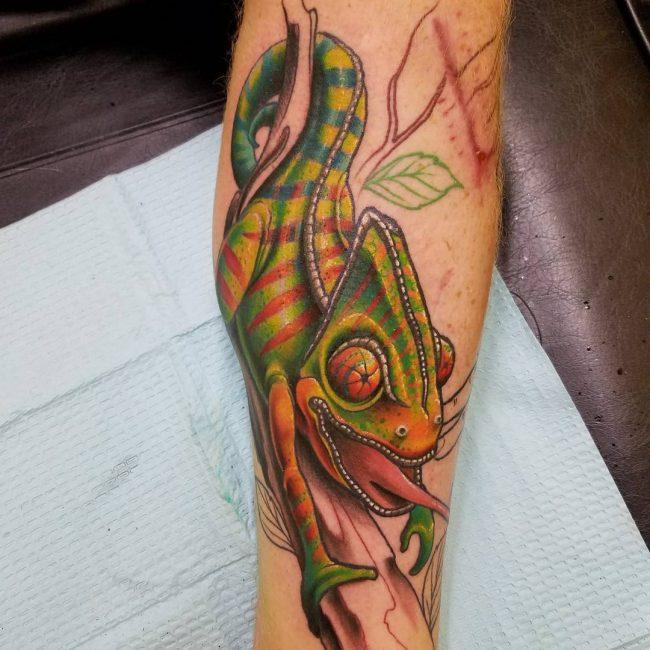 Chameleon Tattoo_