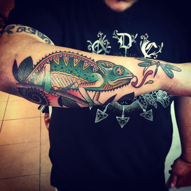 Chameleon Tattoo_