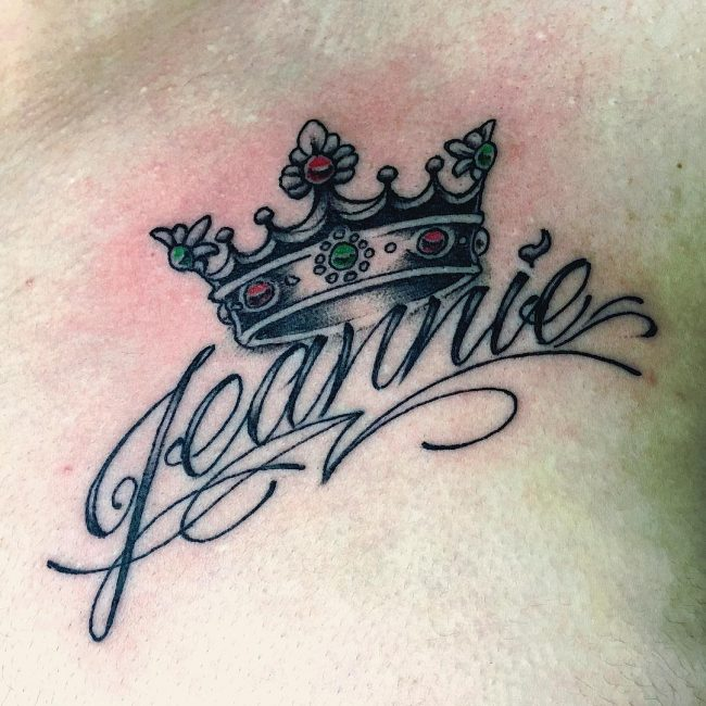 Crown Tattoo_