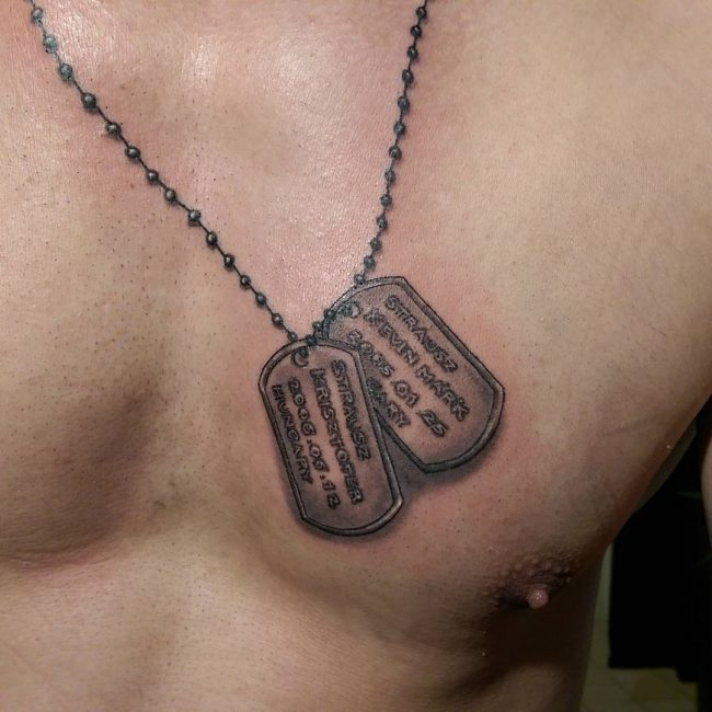 Dog Tag Tattoo_