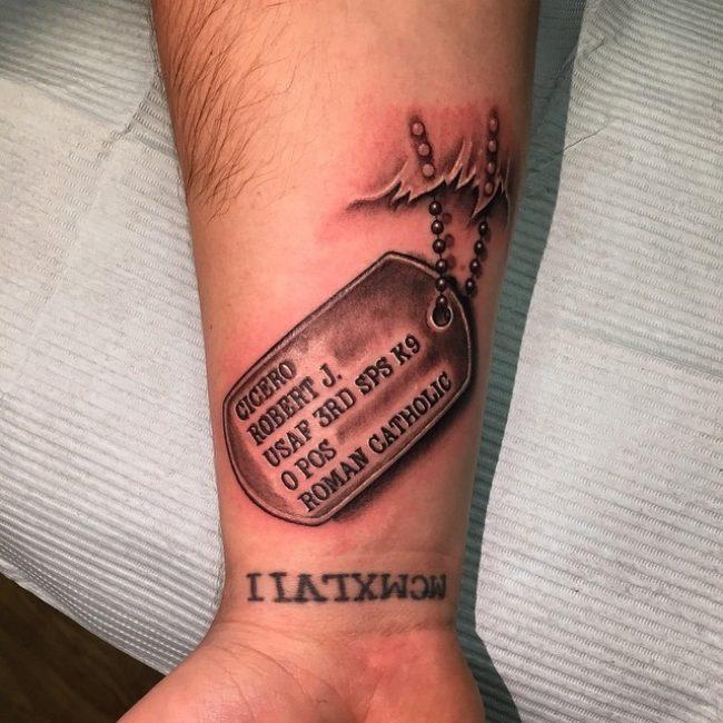 Dog Tag Tattoo_