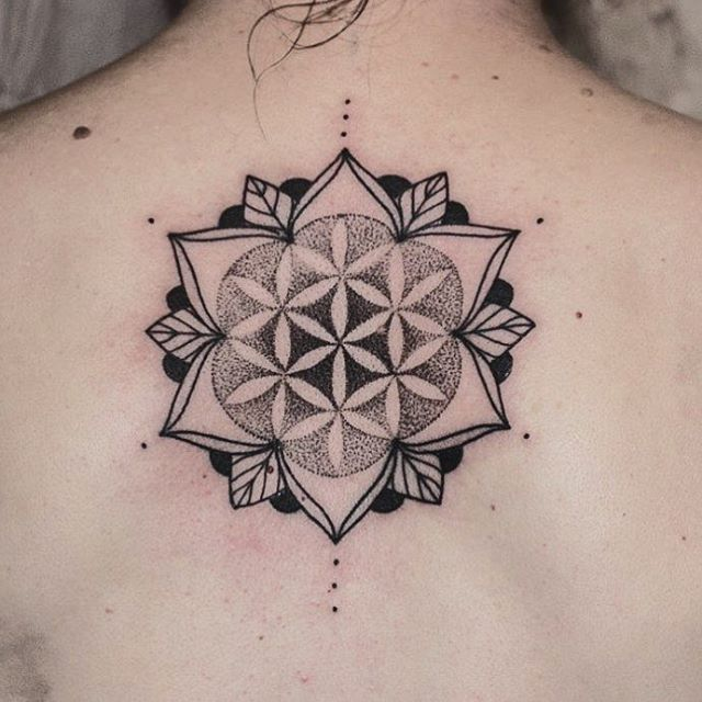 105 Cool Flower Of Life Tattoo Ideas The Geometric