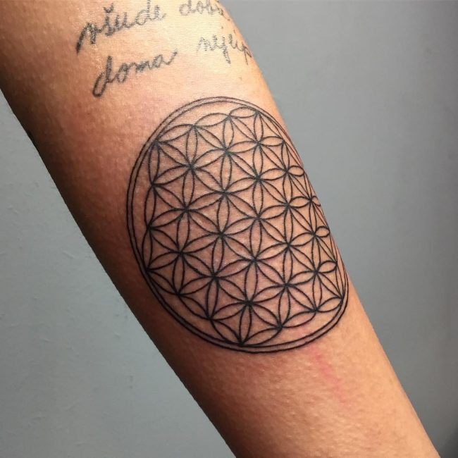 Flower of Life Tattoo_