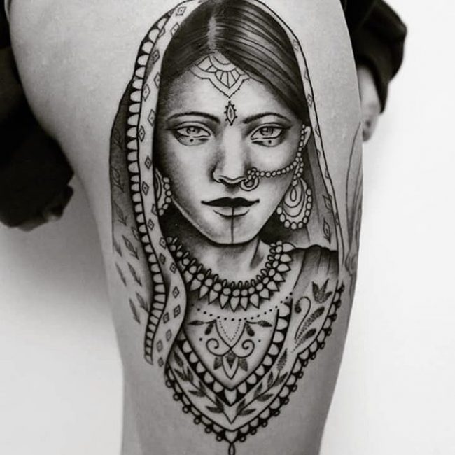 Hindu Tattoo_
