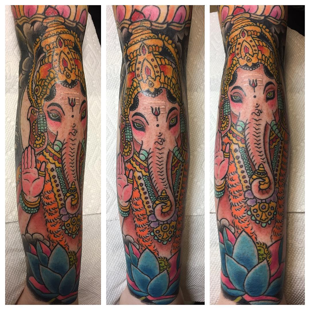 70 Sacred Hindu Tattoo Ideas Designs Packed With Color And Meaning