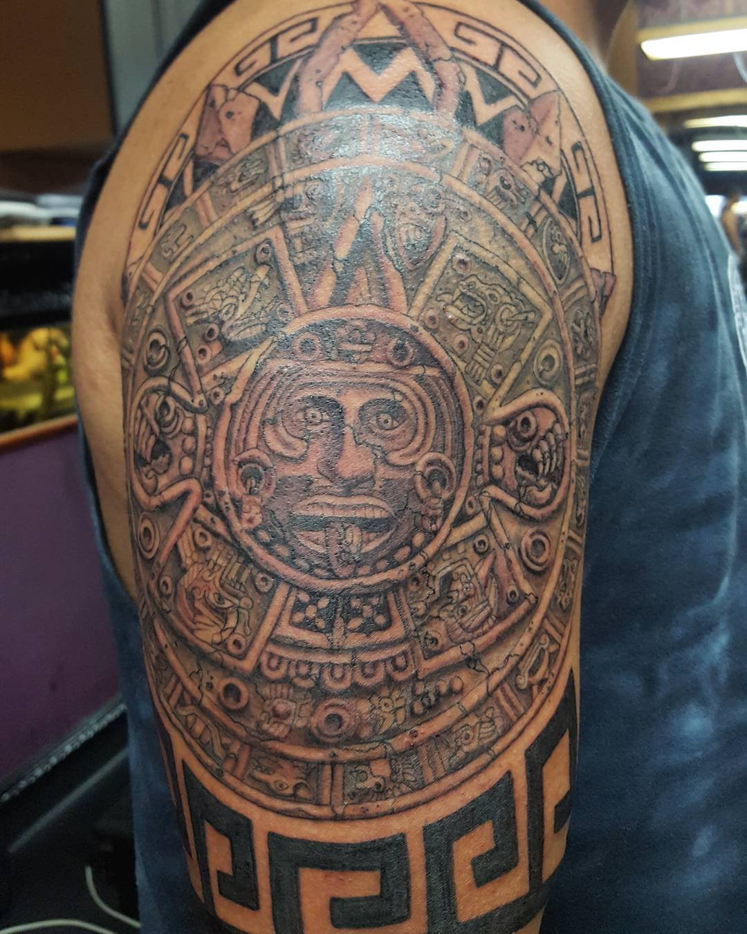 Mayan Tattoos Designs Meanings