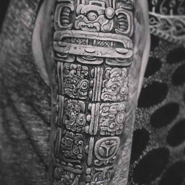 Ancient Mayan Tattoos And Meanings