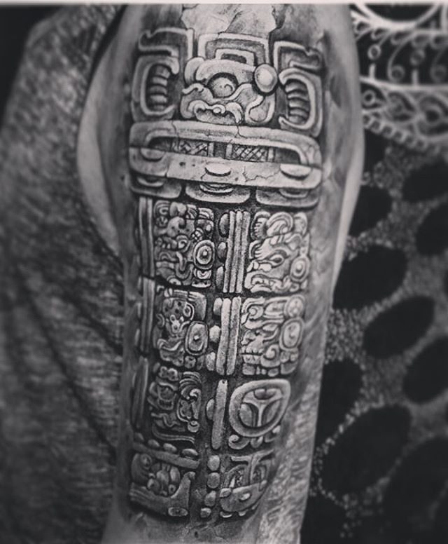 105+ Symbolic Mayan Tattoo Ideas – Fusing Ancient Art with ...