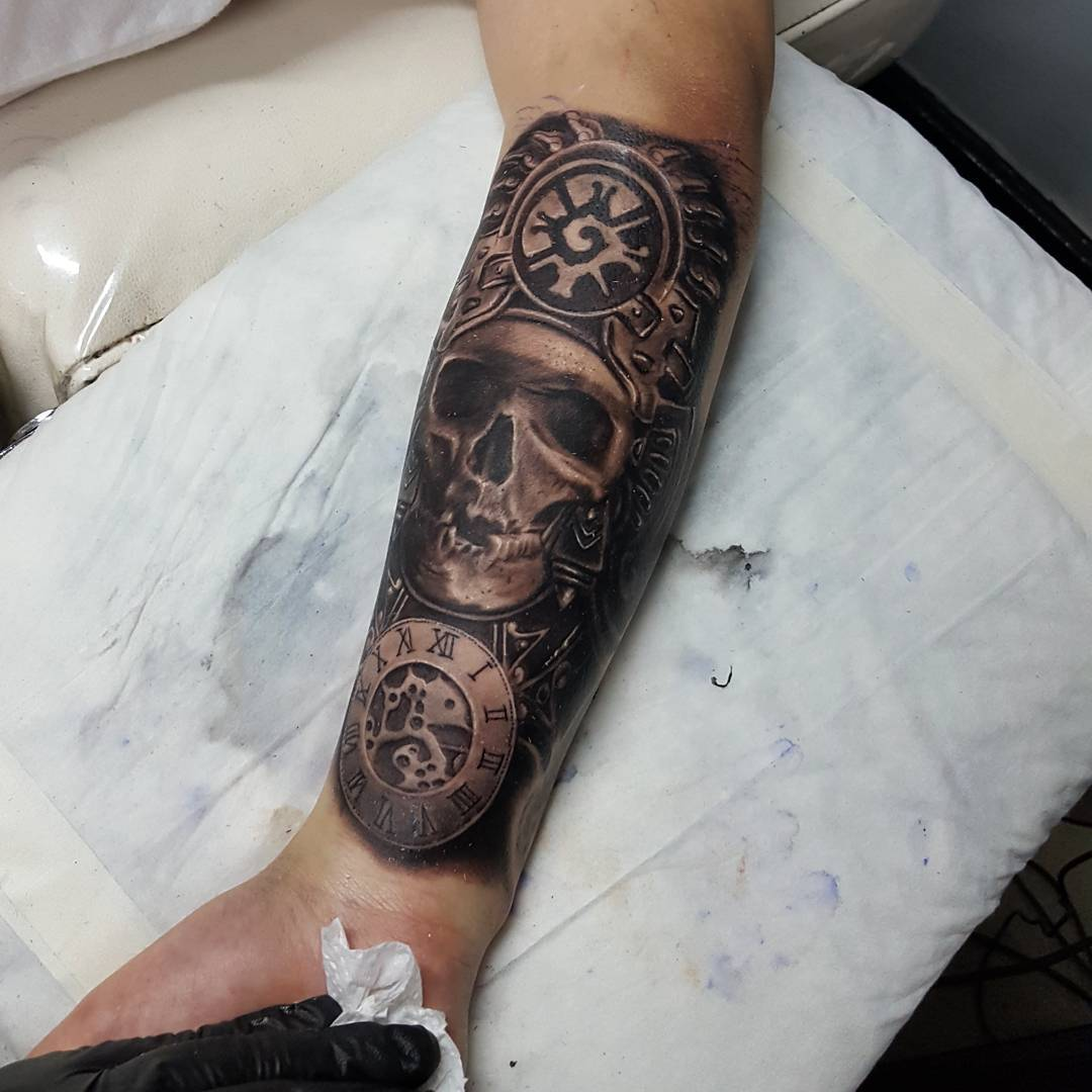 105+ Symbolic Mayan Tattoo Ideas