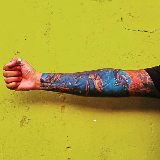 Ocean Tattoo_