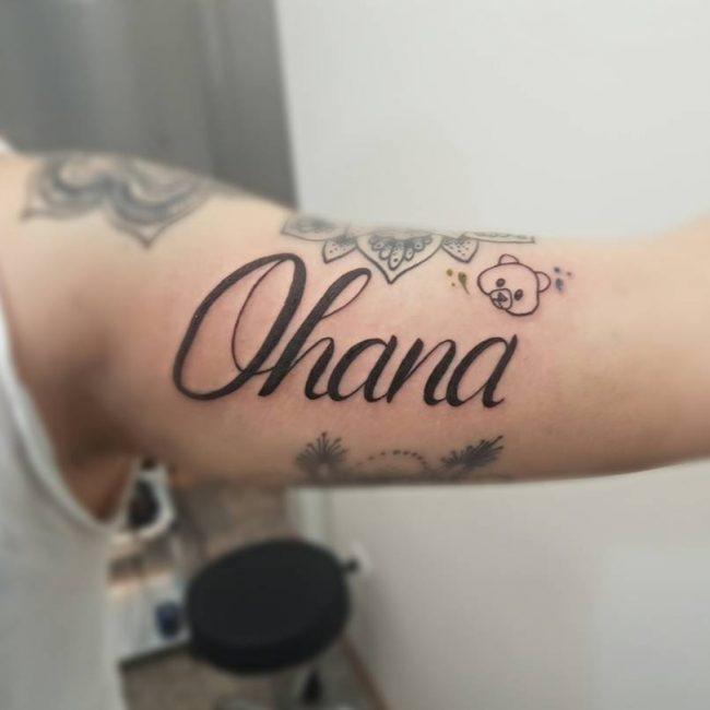 Ohana Tattoo_