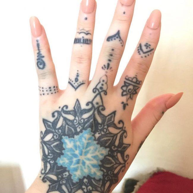 Snowflake Tattoo_