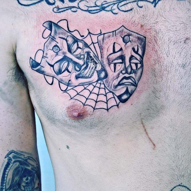 Spider Web Tattoo_