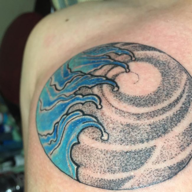 Wave Tattoo_