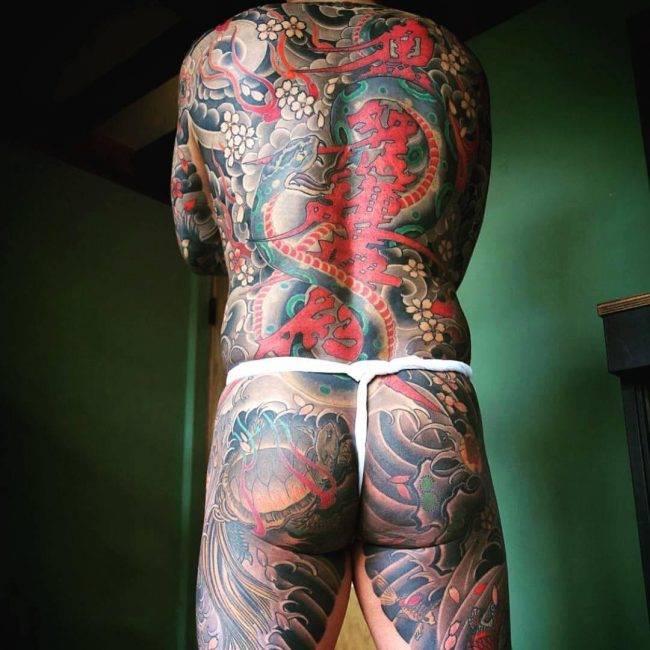 Yakuza Tattoo_
