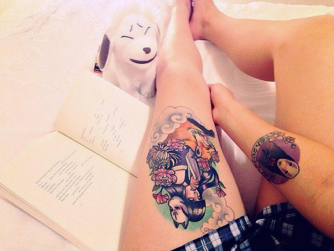 anime tattoos2