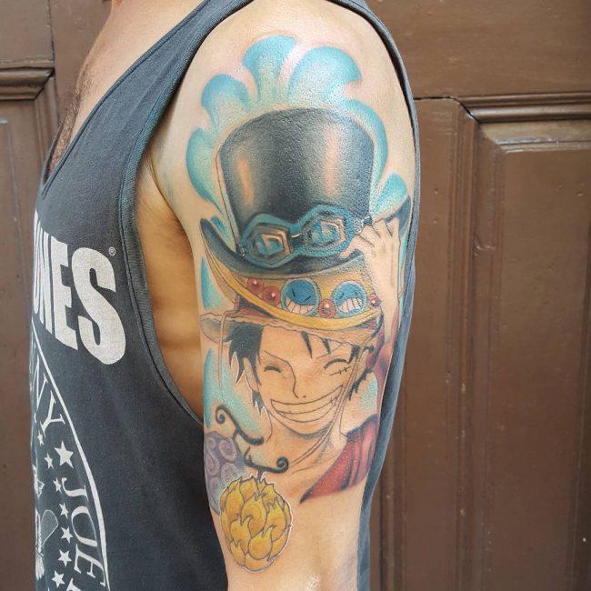 anime tattoos7