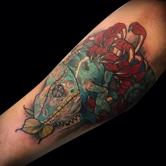 chameleon tattoo15