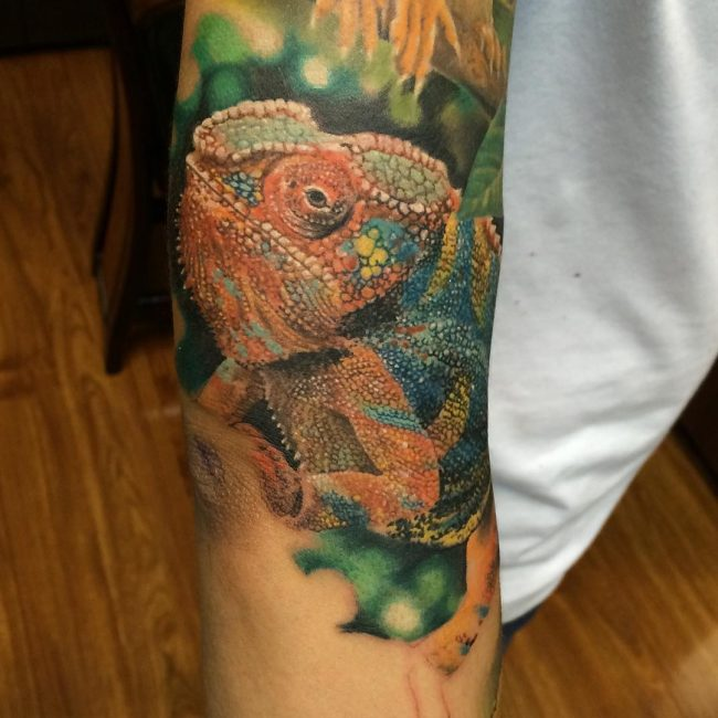 chameleon tattoo16