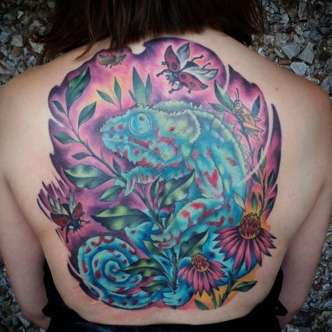 chameleon tattoo2