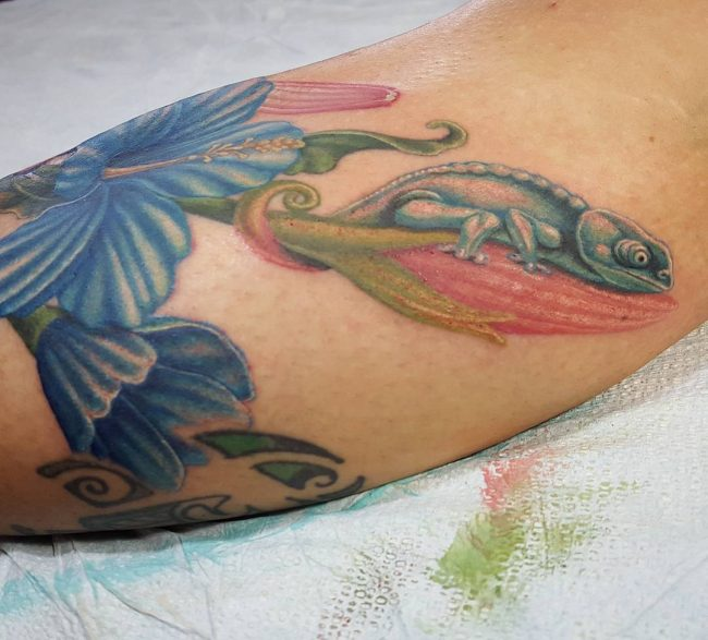 chameleon tattoo20