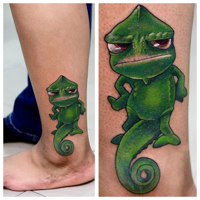 chameleon tattoo22