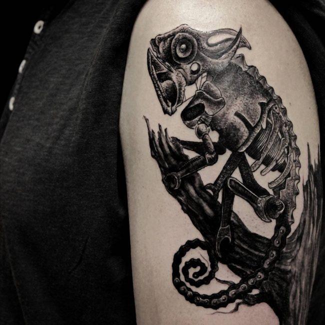 chameleon tattoo25