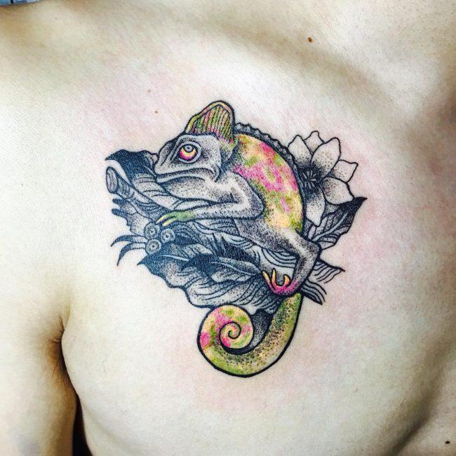 chameleon tattoo26