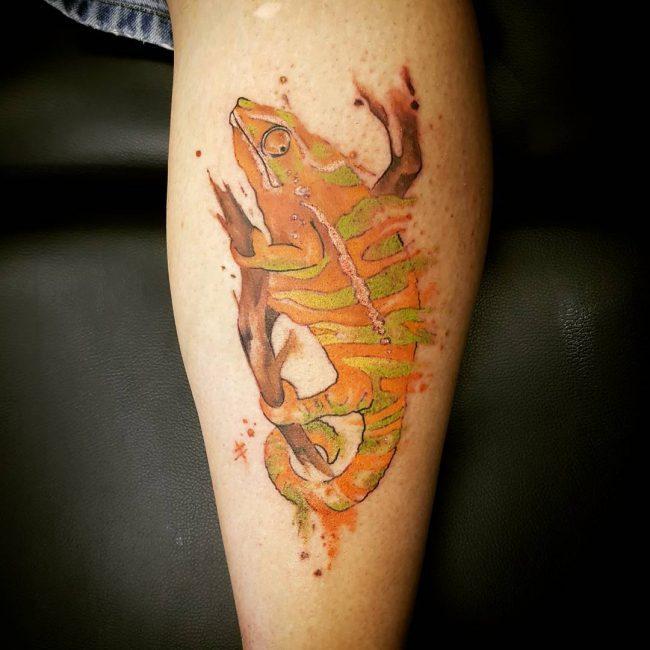 chameleon tattoo28
