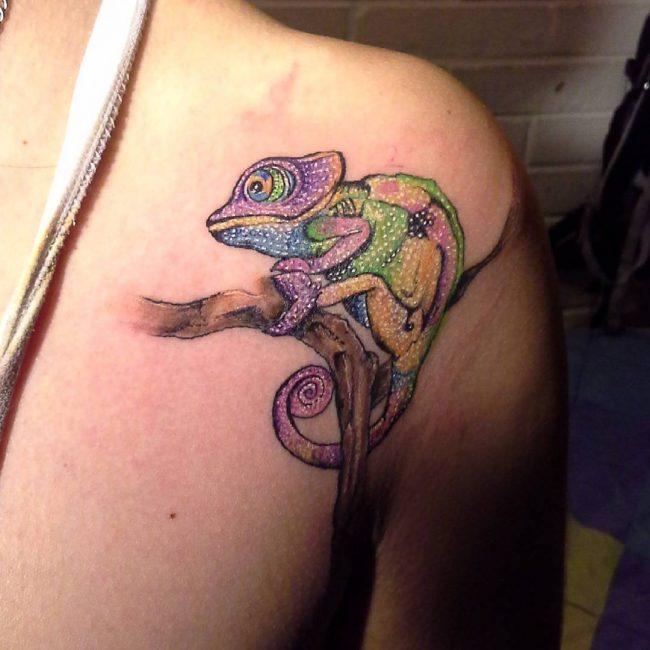 chameleon tattoo29