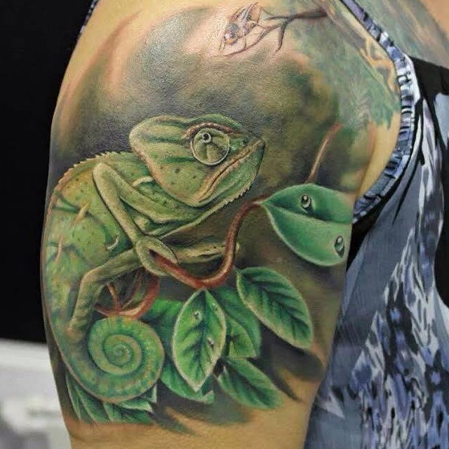 chameleon tattoo31