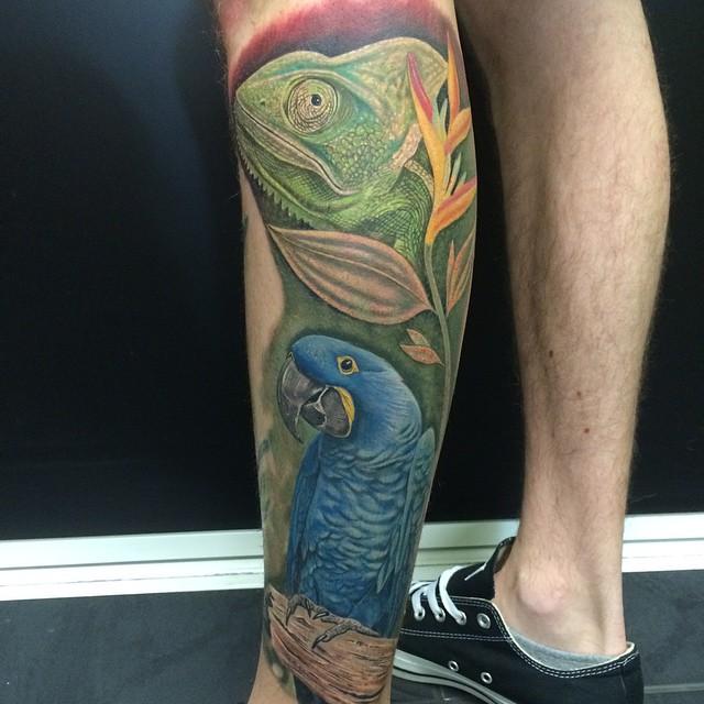 chameleon tattoo34
